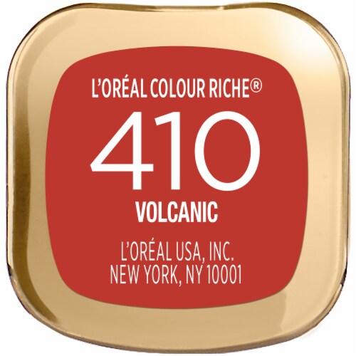 L'Oreal Paris Colour Riche 410 Volcanic Lipstick Perspective: bottom