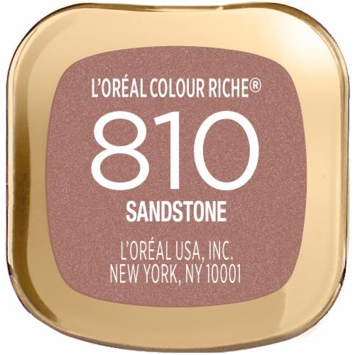 L'Oreal Paris Colour Riche 810 Sandstone Lipstick Perspective: bottom