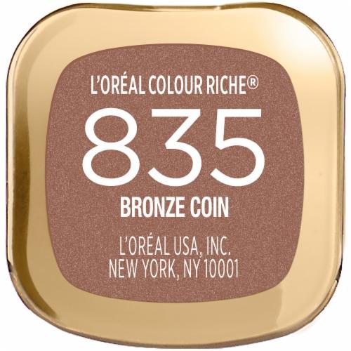 L'Oreal Paris Bronze Coin Colour Riche Lipstick Perspective: bottom