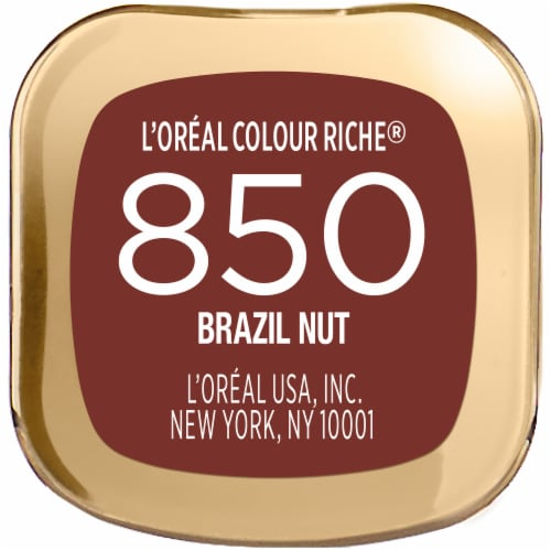 L'Oreal Paris Colour Riche Brazil Nut Lipstick Perspective: bottom