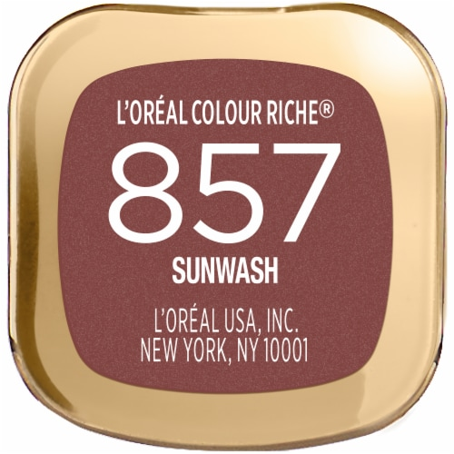 L'Oreal Paris 857 Sunwash Colour Riche Lipstick Perspective: bottom