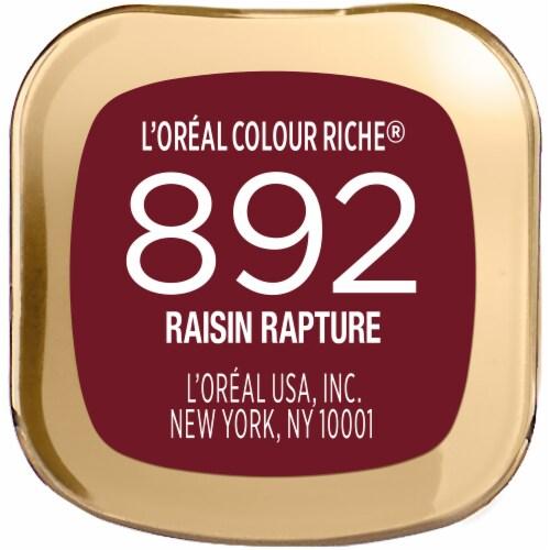 L'Oreal Paris 892 Raisin Rapture Colour Riche Lipstick Perspective: bottom