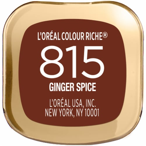 L'Oreal Paris Colour Riche 815 Ginger Spice Lipstick Perspective: bottom
