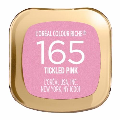 L'Oreal Paris Colour Riche 165 Tickled Pink Lipstick Perspective: bottom