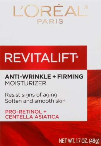 L'Oreal Paris Revitalift Anti-Wrinkle + Firming Face & Neck Day Moisturizer Perspective: bottom
