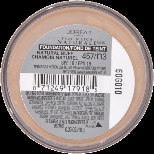 L'Oreal Paris True Match Natural Buff Gentle Mineral Makeup Perspective: bottom