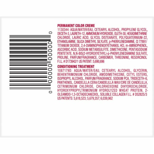 L'Oreal Excellence Creme 3 Natural Black Hair Color Kit Perspective: bottom