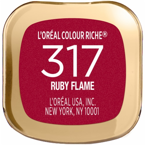 L'Oreal Paris Colour Riche Ruby Flame Lipstick Perspective: bottom