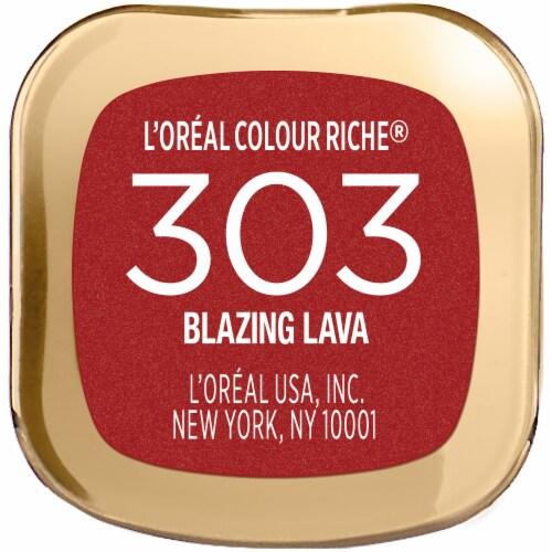 L'Oreal Paris Colour Riche Blazing Lava Lipstick Perspective: bottom