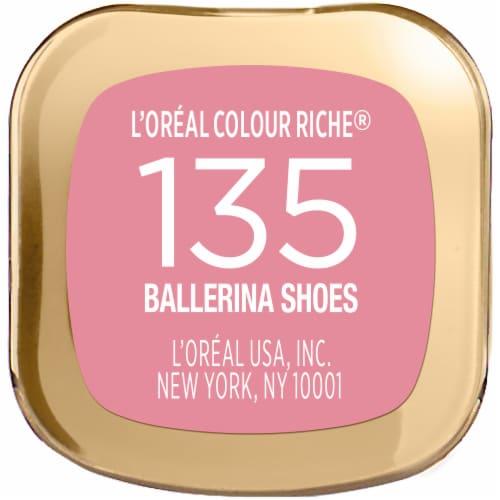 L'Oreal Paris Colour Riche Ballerina Shoes Lipstick Perspective: bottom
