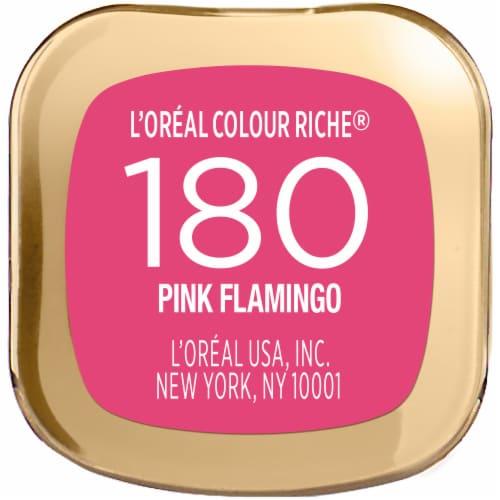 L'Oreal Paris Colour Riche Pink Flamingo Lipstick Perspective: bottom