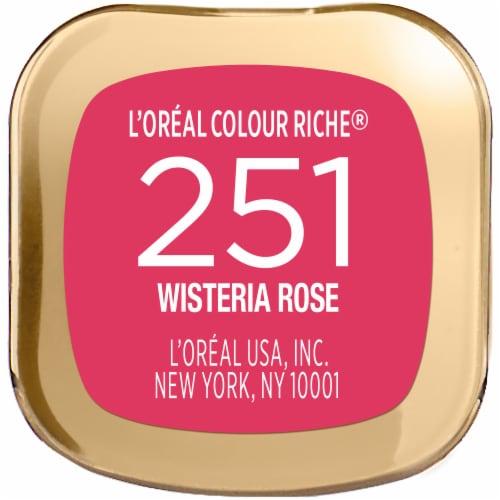 L'Oreal Paris Colour Riche Wisteria Rose Lipstick Perspective: bottom
