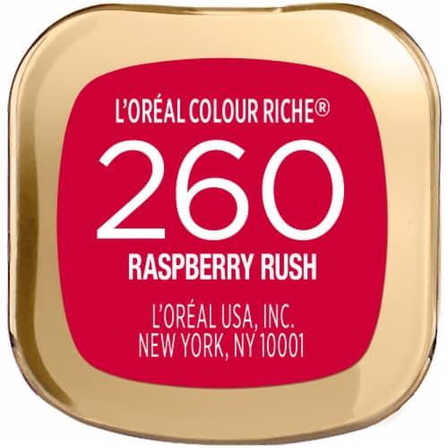 L'Oreal Paris Colour Riche Raspberry Rush Lipstick Perspective: bottom