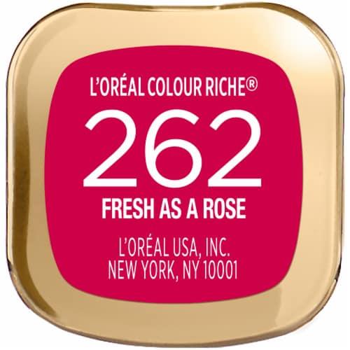 L'Oreal Paris Colour Riche Fresh as a Rose Lipstick Perspective: bottom