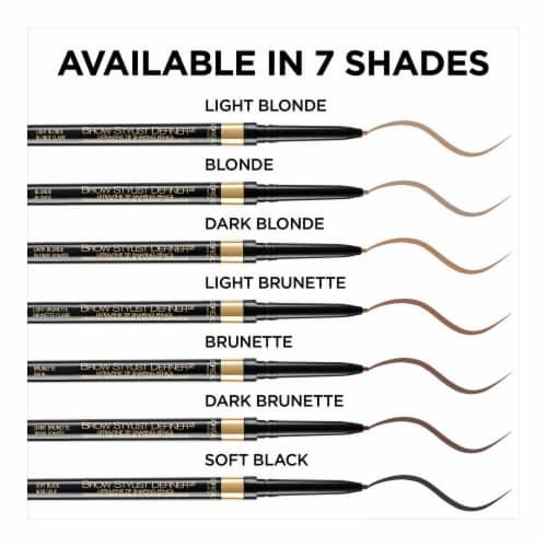 L'Oreal Paris Brow Stylist Definer 390 Dark Brunette Eyebrow Pencil Perspective: bottom
