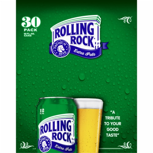 Rolling Rock® Extra Pale Beer Perspective: bottom