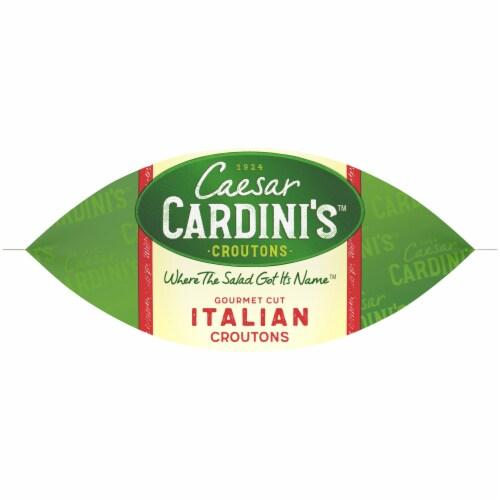 Cardini's Gourmet Cut Italian Croutons Perspective: bottom
