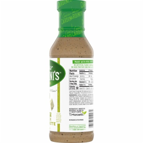 Cardini's Light Greek Vinaigrette Salad Dressing Perspective: bottom