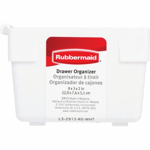 Rubbermaid 9in. X 3in. X 2in. Drawer Organizers Perspective: bottom