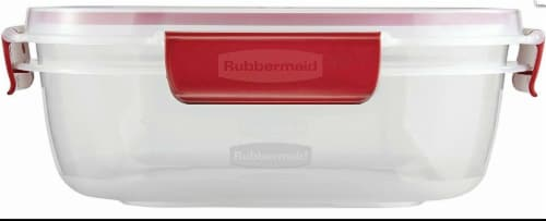 Rubbermaid EasyFindLids Food Storage Container Perspective: bottom
