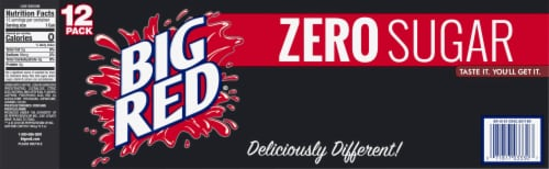 Big Red® Zero Sugar Soda Perspective: bottom