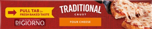 DiGiorno Traditional Crust Small Four Cheese Pizza Perspective: bottom