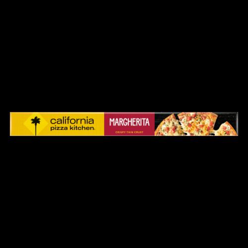 California Pizza Kitchen® Margherita Recipe Crispy Thin Crust Frozen Pizza Perspective: bottom