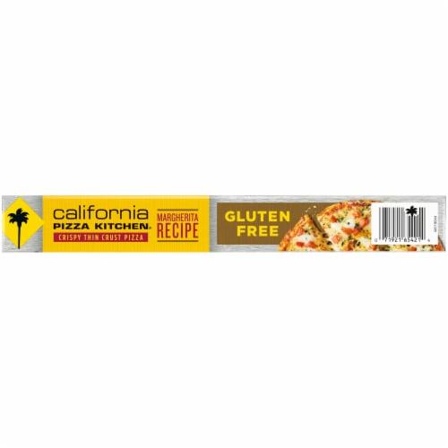 California Pizza Kitchen Margherita Recipe Gluten Free Pizza Perspective: bottom