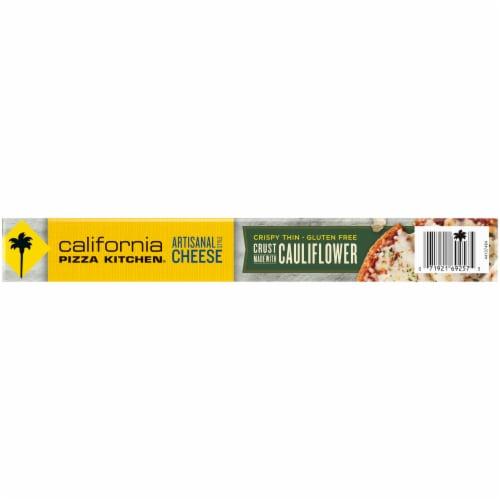 California Pizza Kitchen® Artisanal Style Cheese Frozen Pizza with Cauliflower Pizza Crust Perspective: bottom