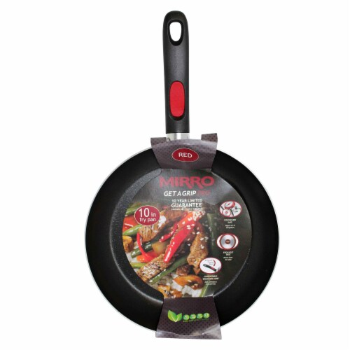Mirro Get A Grip Nonstick Saute Pan - Red Perspective: bottom