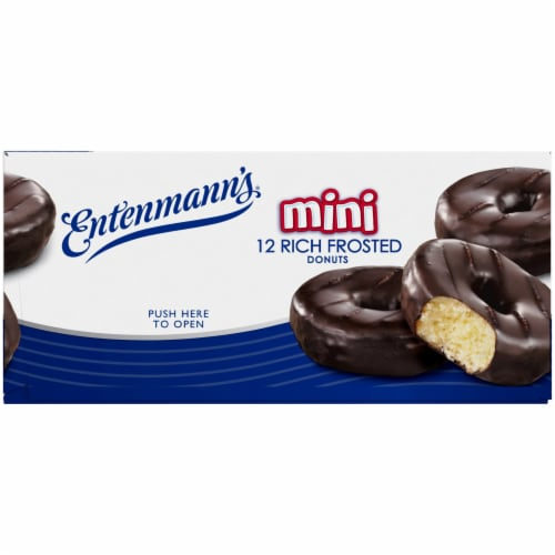 Entenmann's Rich Frosted Mini Donuts Perspective: bottom