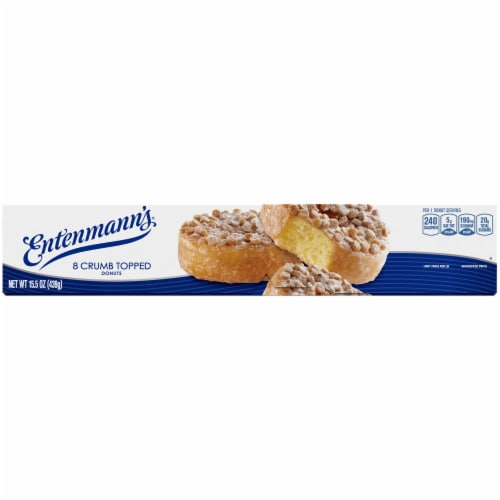 Entenmann's Crumb Topped Donuts Perspective: bottom