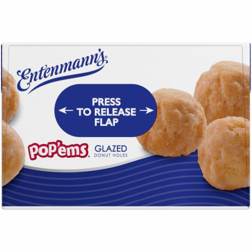 Entenmann's Pop'ems Glazed Holes Perspective: bottom