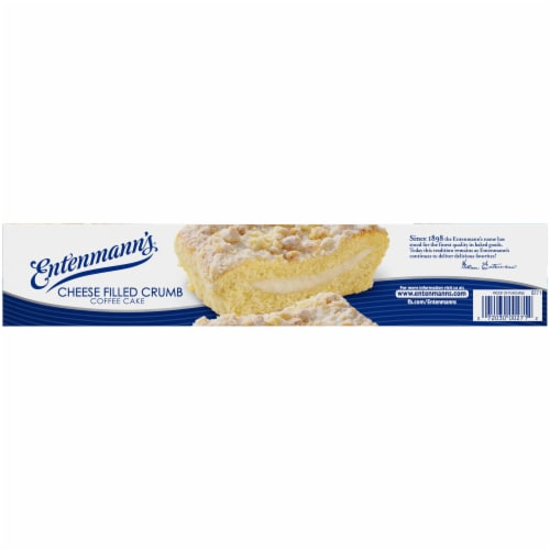 Entenmann's Cheese Filled Crumb Coffee Cake Perspective: bottom