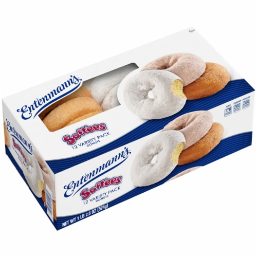 Entenmann's® Soft'ees® Donut Variety Pack Perspective: bottom