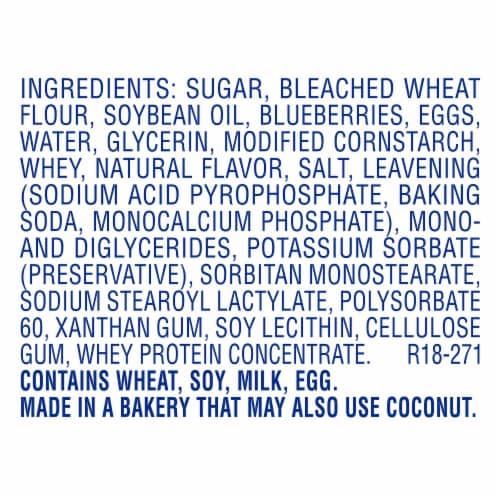 Entenmann's Little Bites Blueberry Mini Muffins Pouches Perspective: bottom