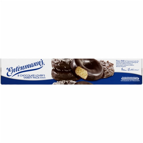 Entenmann's Chocolate Lover's Variety Pack Donuts Perspective: bottom