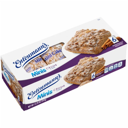 Entenmann's Minis Crumb Cakes Perspective: bottom