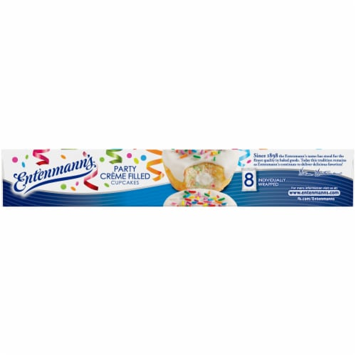 Entenmann's® Party Creme Filled Cupcakes Perspective: bottom