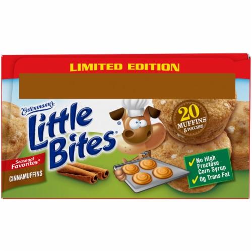 Entenmann's® Little Bites® Limited Edition Cinnamuffins Mini Muffins Perspective: bottom