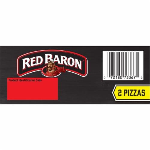 Red Baron Singles Deep Dish Supreme Pizza Perspective: bottom