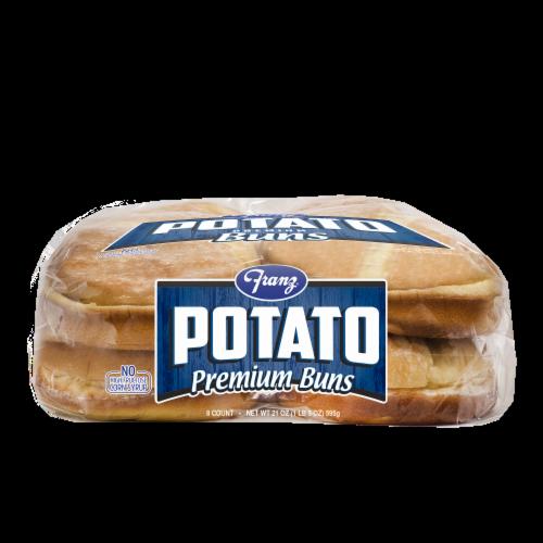 Franz® Bar-B-Que Country Potato Hamburger Buns Perspective: bottom