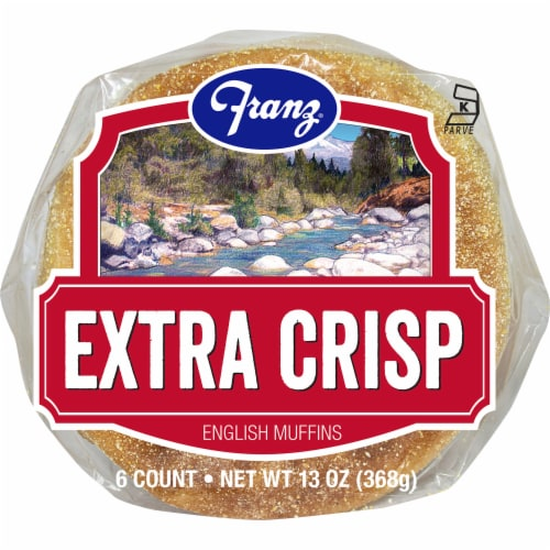 Franz Extra Crisp English Muffins Perspective: bottom