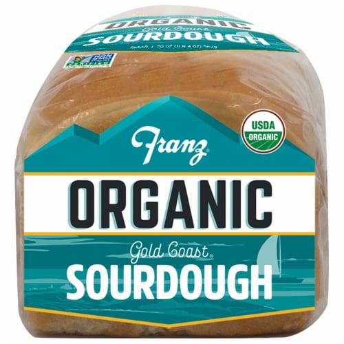 Franz® Organic Gold Coast Sourdough Bread Perspective: bottom
