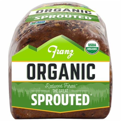 Franz® Organic The Great Sprouted Bread Perspective: bottom