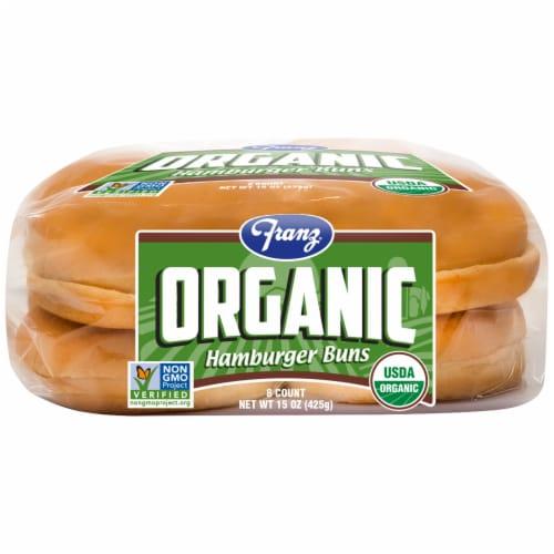Franz® Organic Hamburger Buns Perspective: bottom