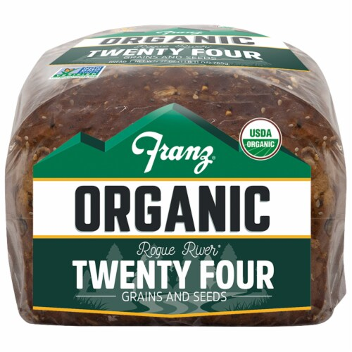 Franz® Organic Rogue River Twenty Four Grains and Seeds Bread Perspective: bottom