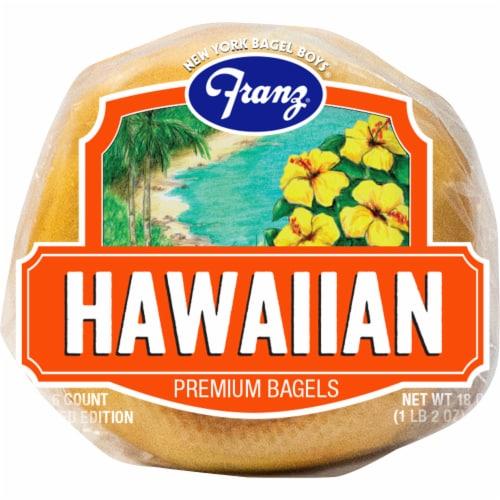 Franz® Hawaiian Premium Bagels Perspective: bottom