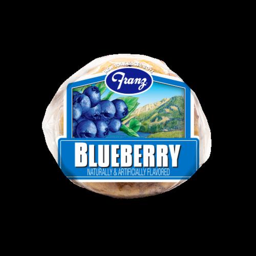 Franz® New York Bagel Boys® Blueberry Premium Bagels Perspective: bottom