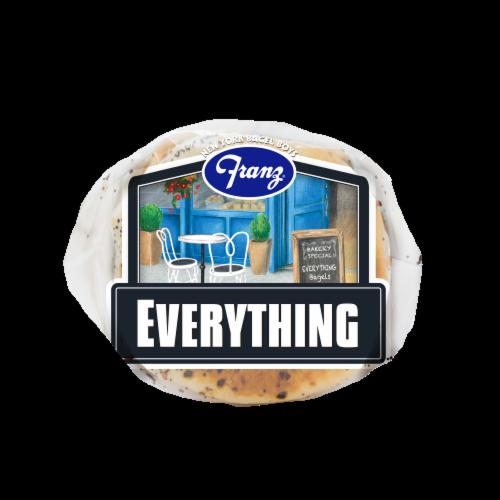 Franz® Everything Premium Bagels Perspective: bottom
